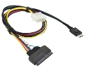 Supermicro CBL-SAST-1011 PCIe NVMe 12Gbs Cable